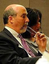 Joel Brodsky at Peterson's Mock trial Thursday