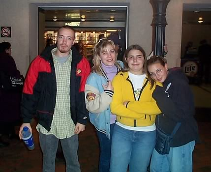 Stacy with her brother and sisters