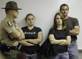 Cassandra Cales, Pam Bosco and Bruce Zidarich