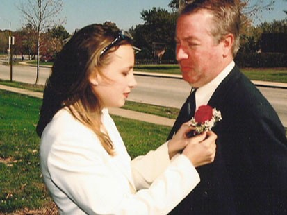 Stacy and Drew Peterson wedding