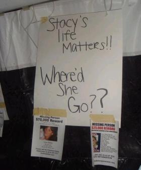Stacy Peterson vigil