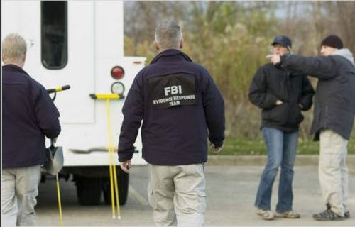 FBI searches Hammel Woods (November 5, 2012)