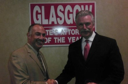 "Steve Greenberg Tweeted on 9/20/12: ""I promised if we lost I would come to a Glasgow fundraiser and I am a man of my word"""